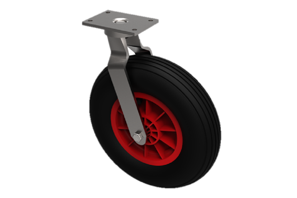 Castors with Puncture Proof Wheels Ribbed.png