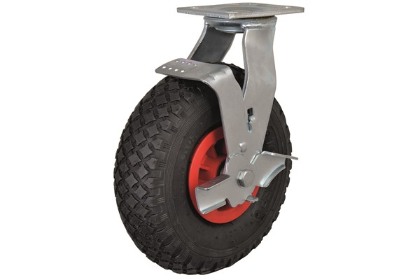 Castors with Puncture Proof Wheels with Brake.png