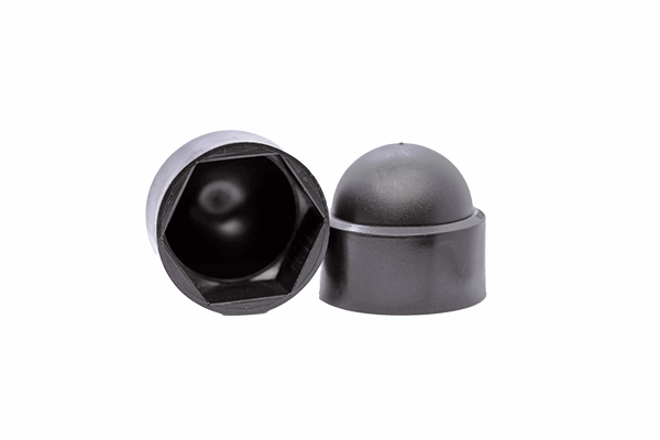 Nut Caps Domed Nut Cover Black.png