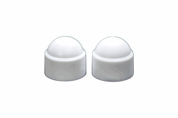 Nut Caps Domed Nut Cover White.png